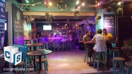 Profitable Bar For Sale (Leasehold) – Night Market & Pub Street – Siem Reap