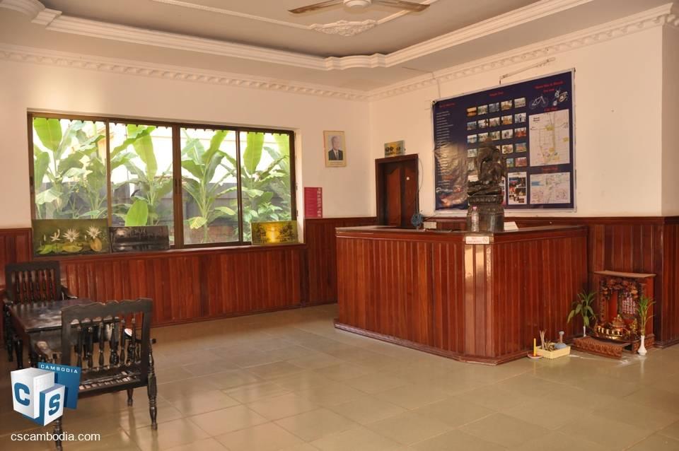 15 Bedroom Guest house – For Rent – Wat Damnak Village, Sala