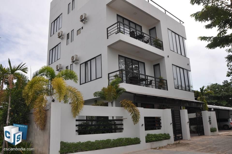 23 bedroom Hotel – For rent – Vihear Chen Village – Svay Dankum Commune – Siem Reap