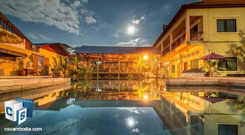 20 Room City Center Boutique Hotel business – For Sale – Siem Reap