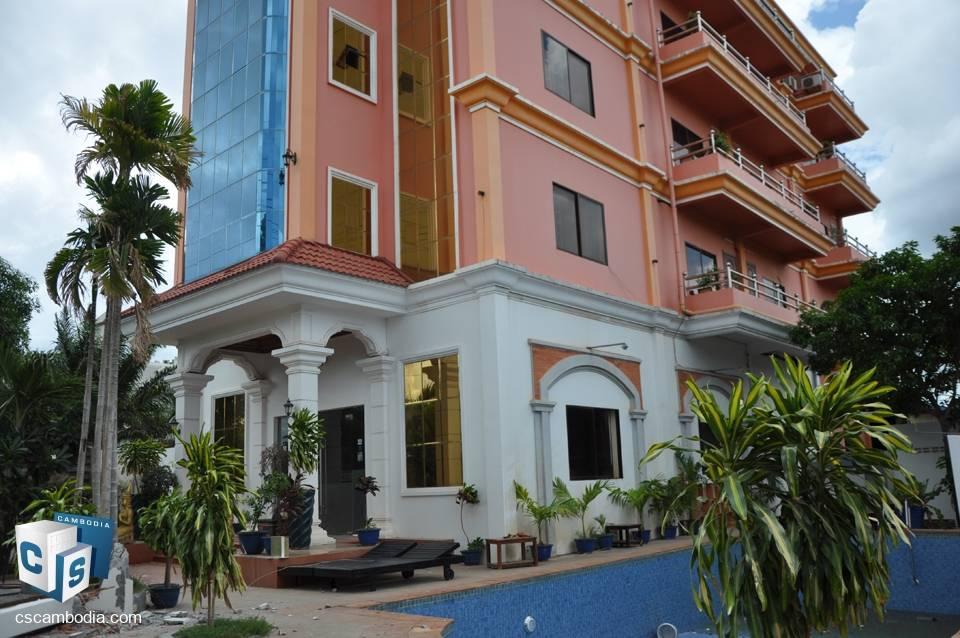 31 Room Hotel – For Sale – Vihear Chen Village – Svay Dangkum Commune – Siem Reap