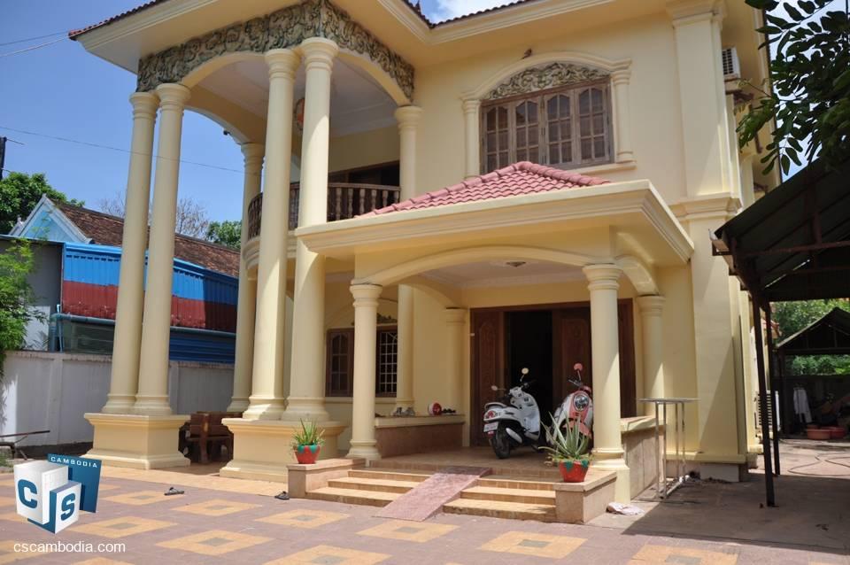 4 Bedroom House – For Sale – Sala Kamreuk Village – Sala Kamreuk Commune – Siem Reap