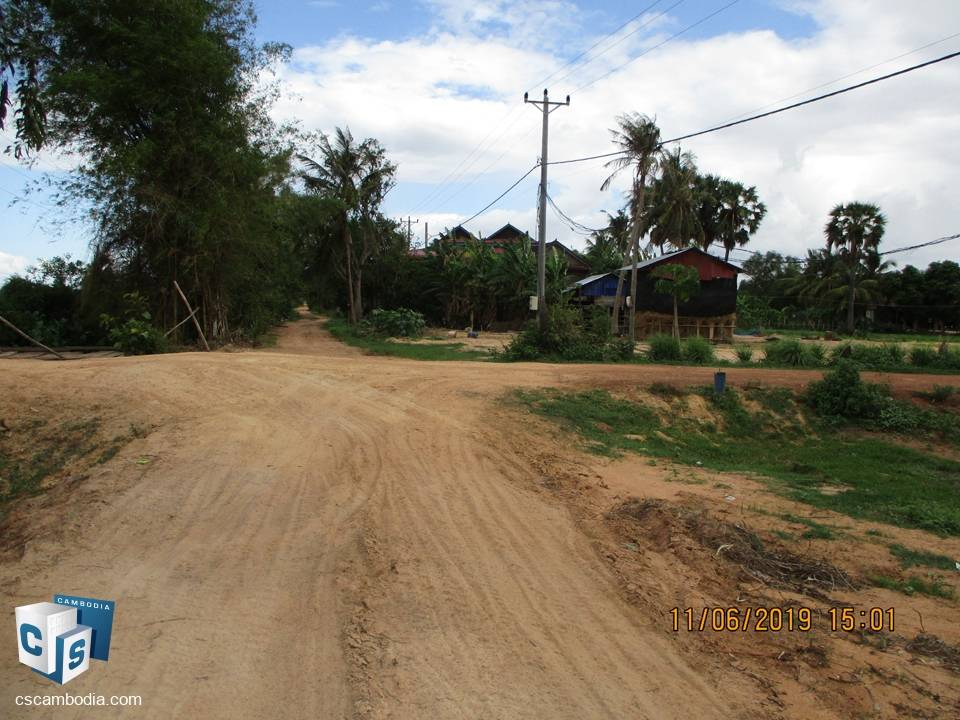 60,000 sq m Land – For Sale – Krobei Real Village – Siem Reap