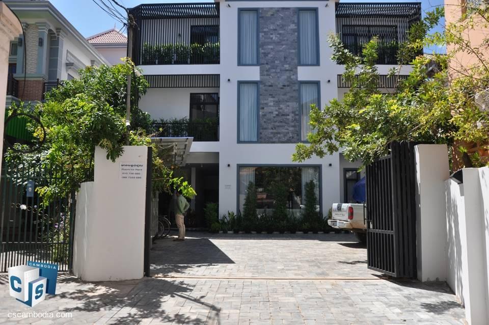 2 Bedroom Apartment- For Rent-Sla Kram Village, Sla Kram Commune, Siem Reap