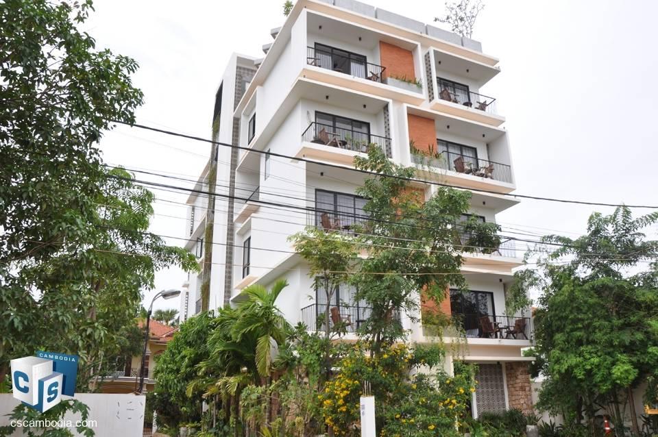 2 Bedroom Apartment – For Rent – Sala Kanseng Village – Svay Dangkum Commune –  Siem Reap