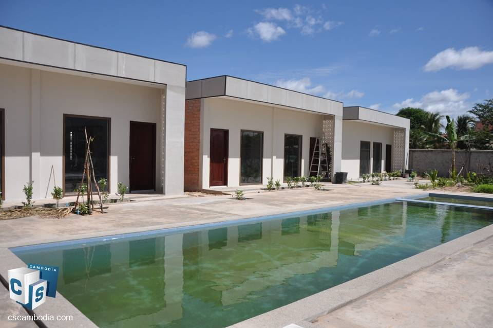 13 Room Boutique Hotel – For Rent – Kruos Village – Svay Dangkum Commune – Siem Reap