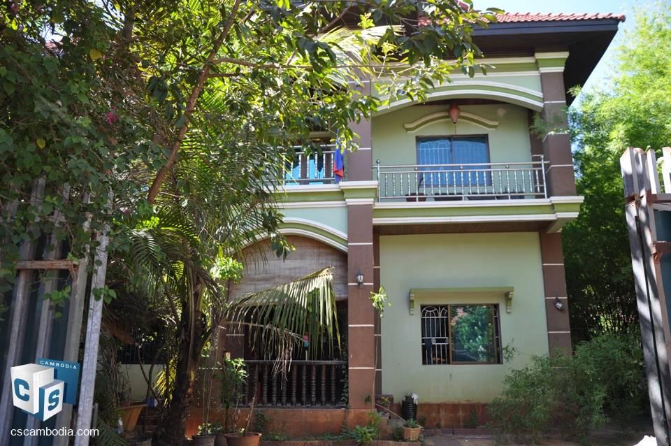 17 Bedroom Guest House – For Rent – Kok Chork Commune, Siem Reap