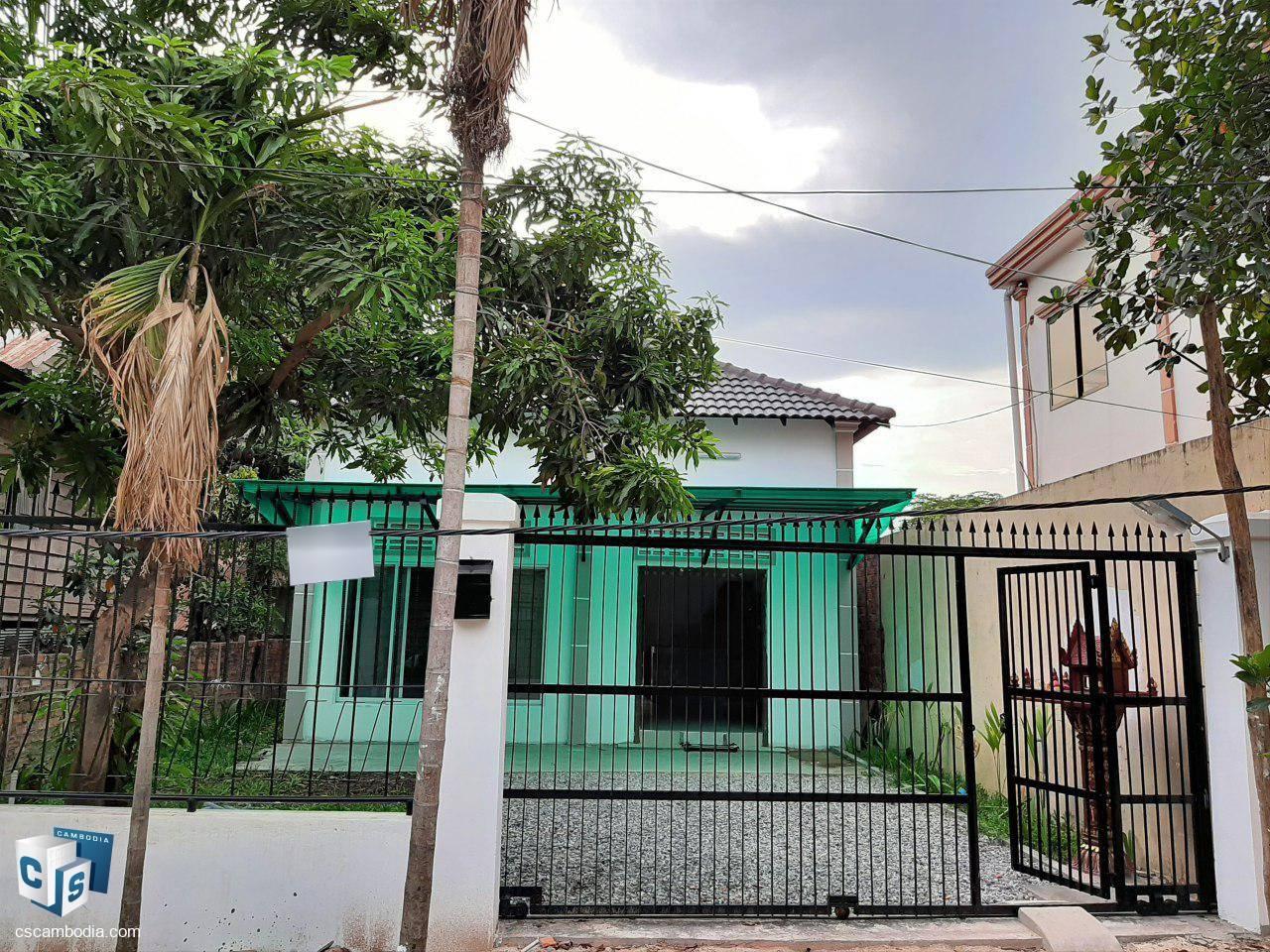 2 Bedroom House – For Rent -Trang Village –  Sla Kram Commune – Siem Reap