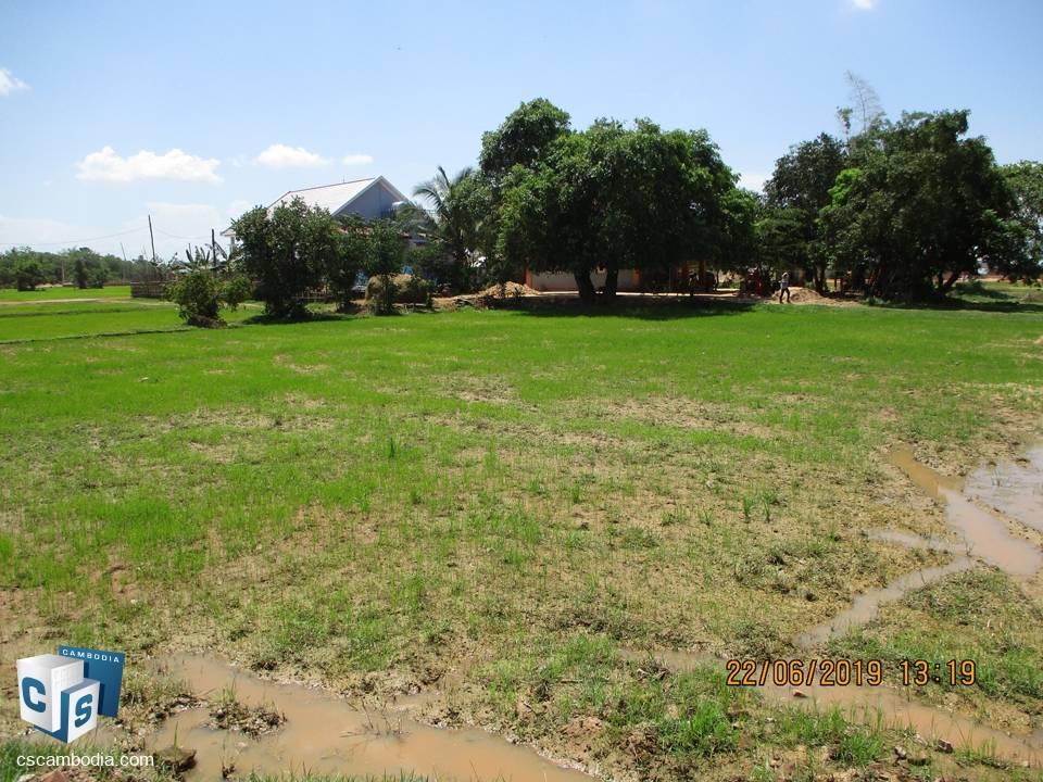 1,700 sq m Land-For Sale-Sambor Vilage, Sambor Commune, Siem Reap Province
