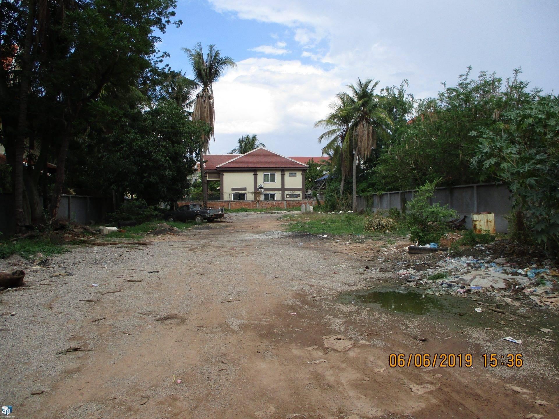 1500 Sq m Land – for Sale-Chang Kavsu Village , Sla Kram Commune , Siem Reap