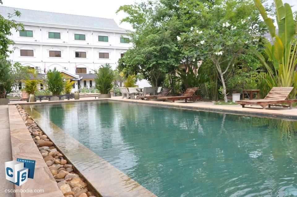 33 Room Hotel – For Sale – Mondul III Village – Sla Kram Commune – Siem Reap