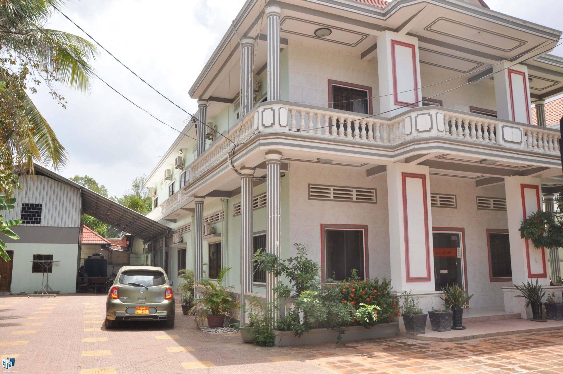 16 Bedroom Guest House -For Rent -Sla Kram Commune- Siem Reap