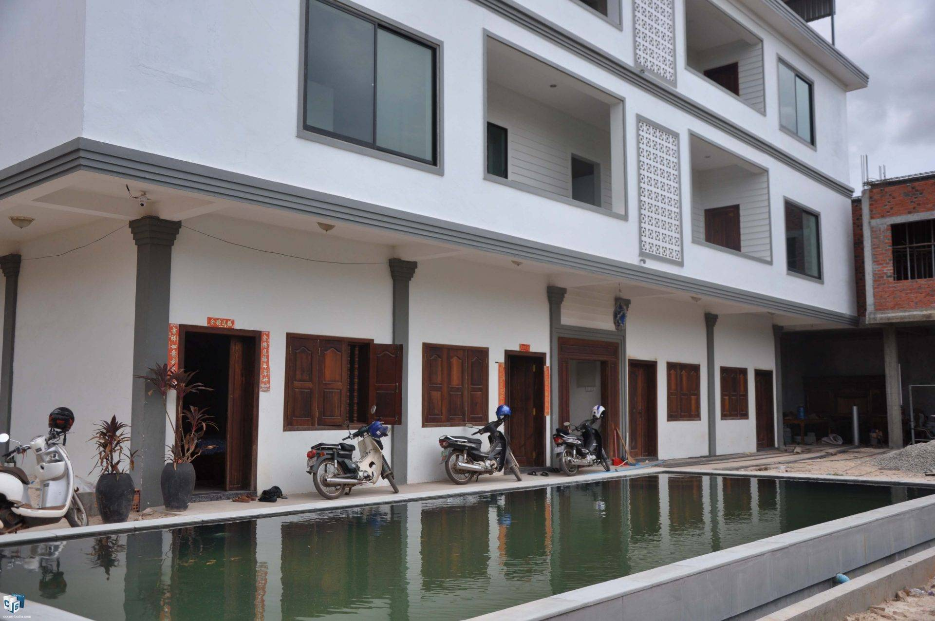 16 Room Hotel – For Rent – Sla Kram Commune – Siem Reap