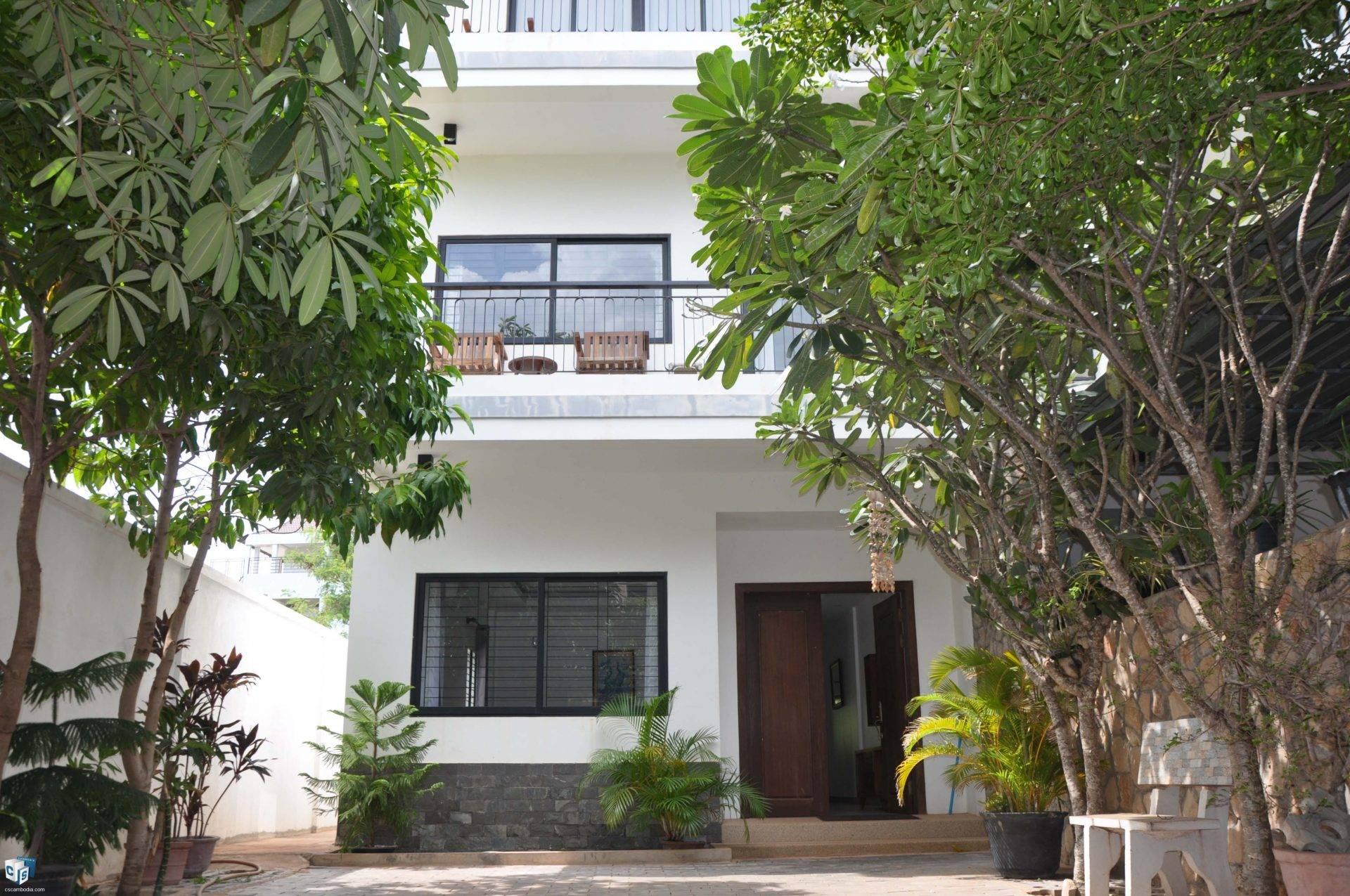 4 Bedroom House – For Rent – Svay Dangkom Commune – Siem Reap
