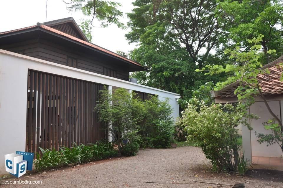 5 Room House – For Rent – Sala Kangseng Village – Svay Dangkum Commune – Siem Reap