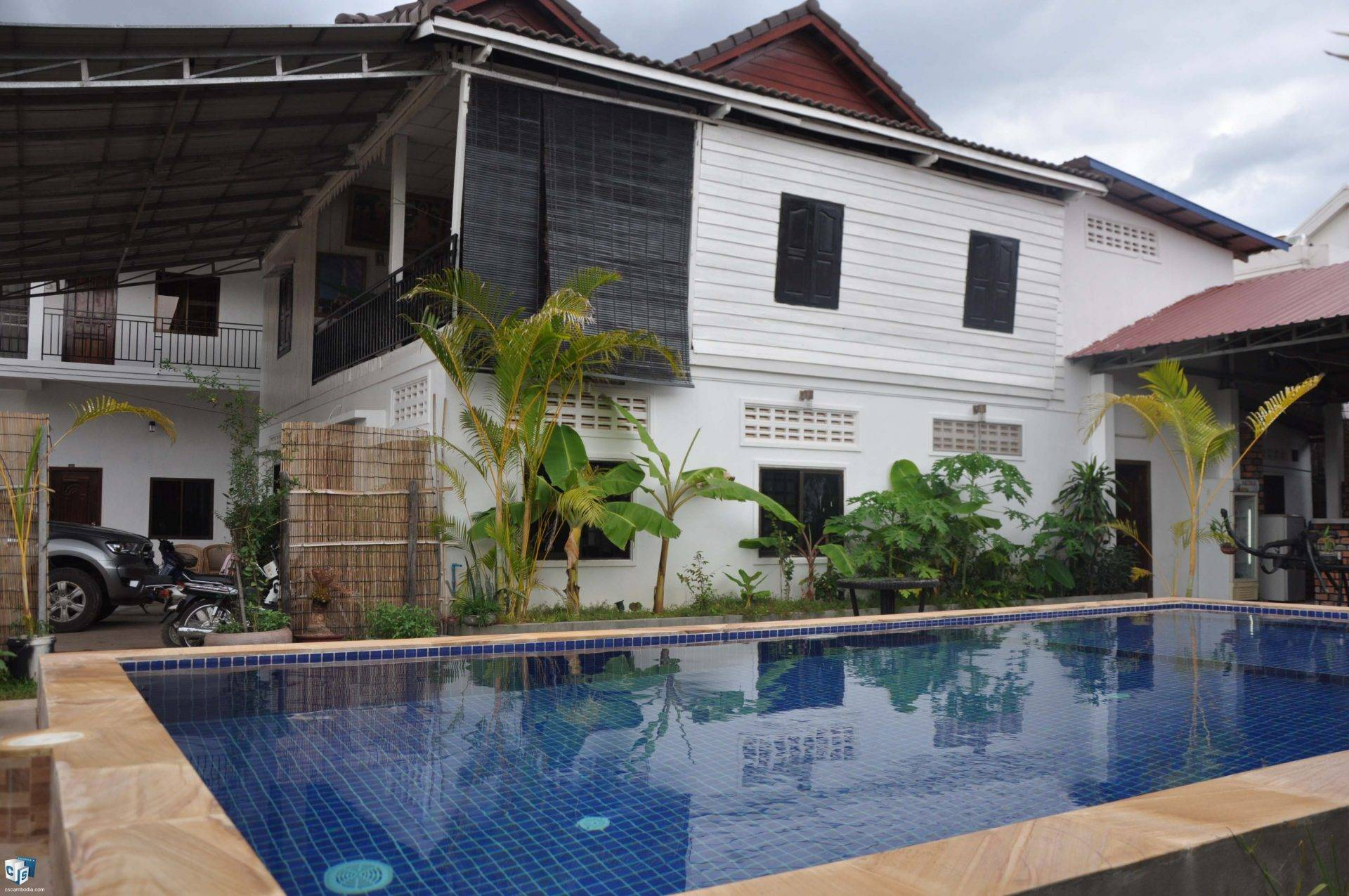 13 Room Guest House – For Rent – Svay Dangkum – Siem Reap