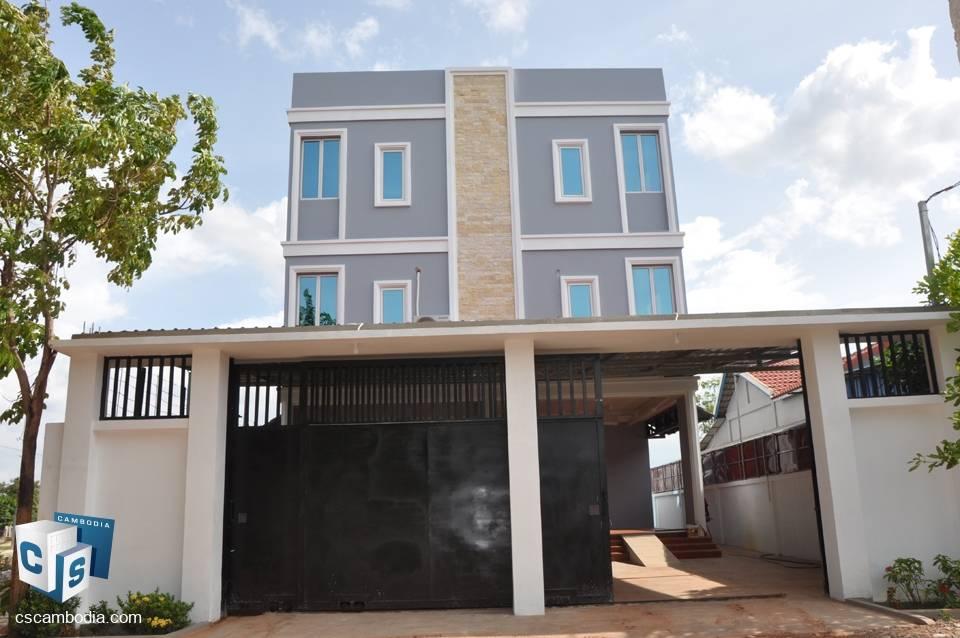 7 Bedroom House – For Rent – Krous Village – Svay Dangkum – Siem Reap