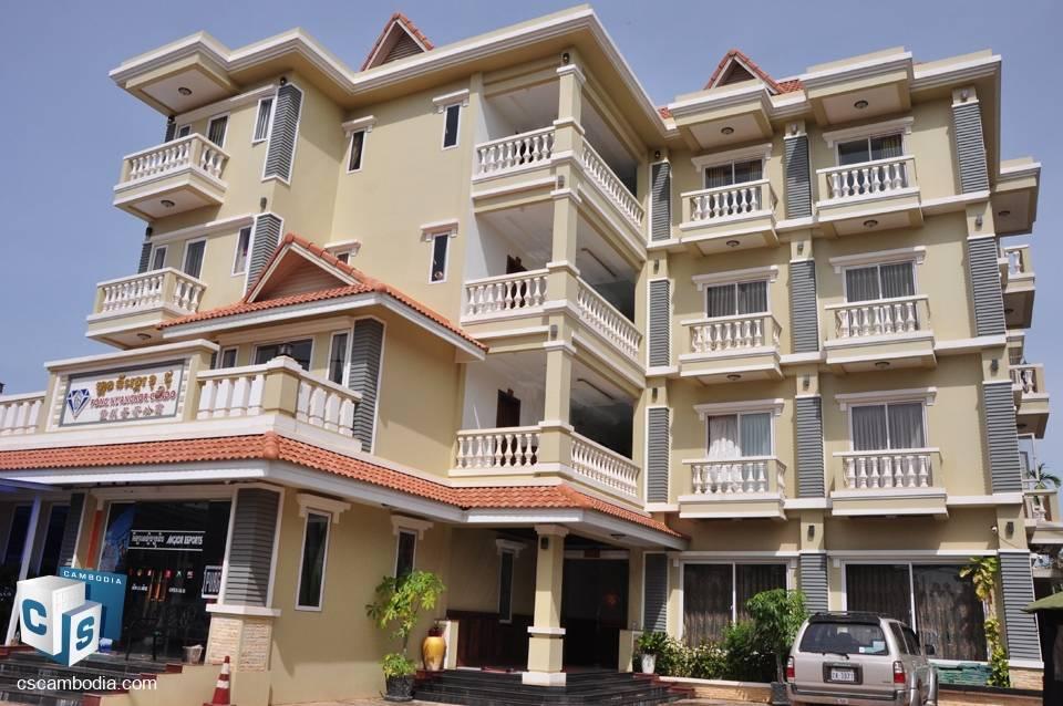 2 Bedroom Apartment – For Rent – Sala Kanseng Village – Svay Dangkom Commune – Siem Reap