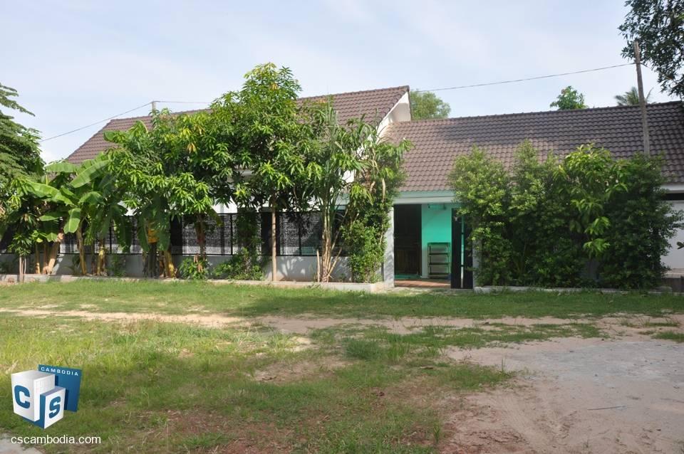 3 Bedroom House – For Rent – Sala Kamreuk Village – Sala  Kamreuk Commune – Siem Reap