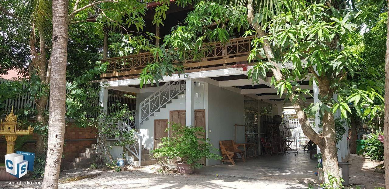 4 Bedroom House – For Rent  – Mondul III Village – Sla Kram Commune – Siem Reap