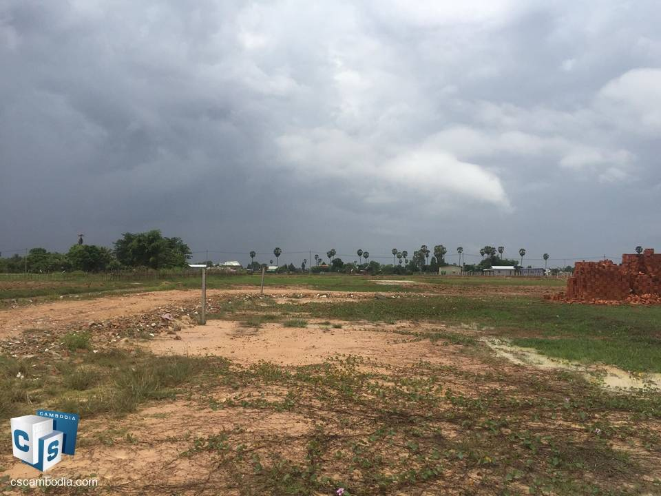200 Sq M of Land – For Sale – Kantrak Village – Svay Dangkum Commune – Siem Reap