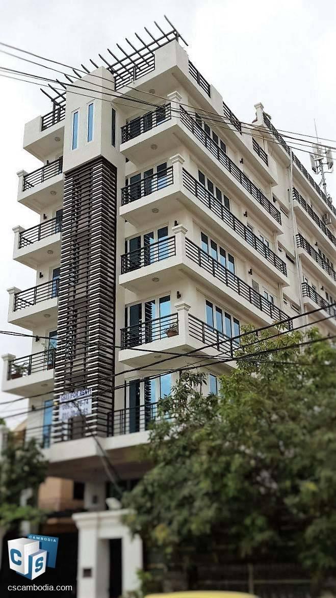 13 Unit Apartment Building – For Sale – Toul Kork District – Boeung Kok I Commune – Phnom Penh
