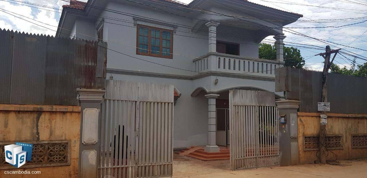 5 Bedroom House – For Rent  – Sla Kram Commune – Siem Reap