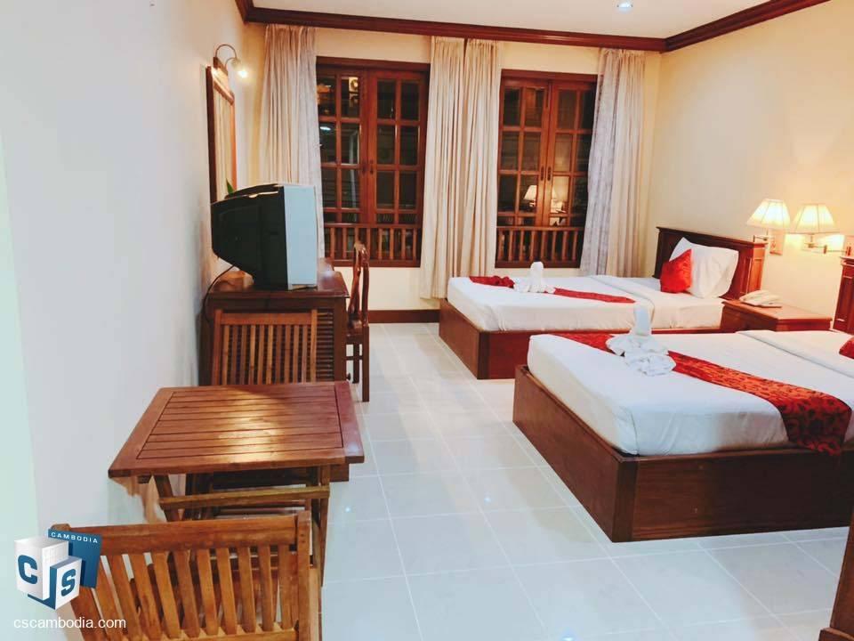 39 Room Hotel – For Rent – Wat Bo Village – Sala Kamreuk Commune – Siem Reap