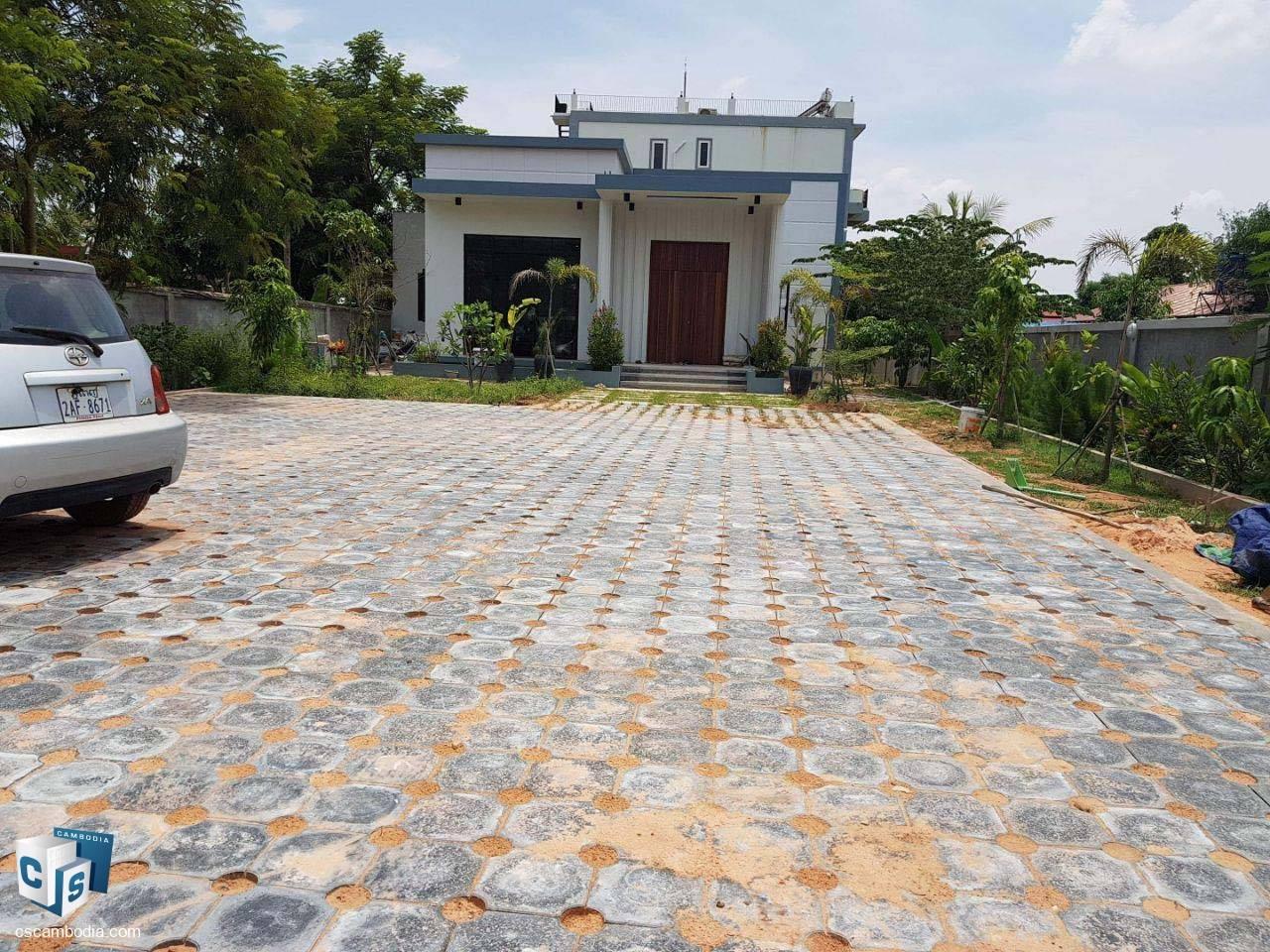 2 bedroom House – For Rent – Trapeang Traeng Village- Sala Kamreuk – Siem Reap