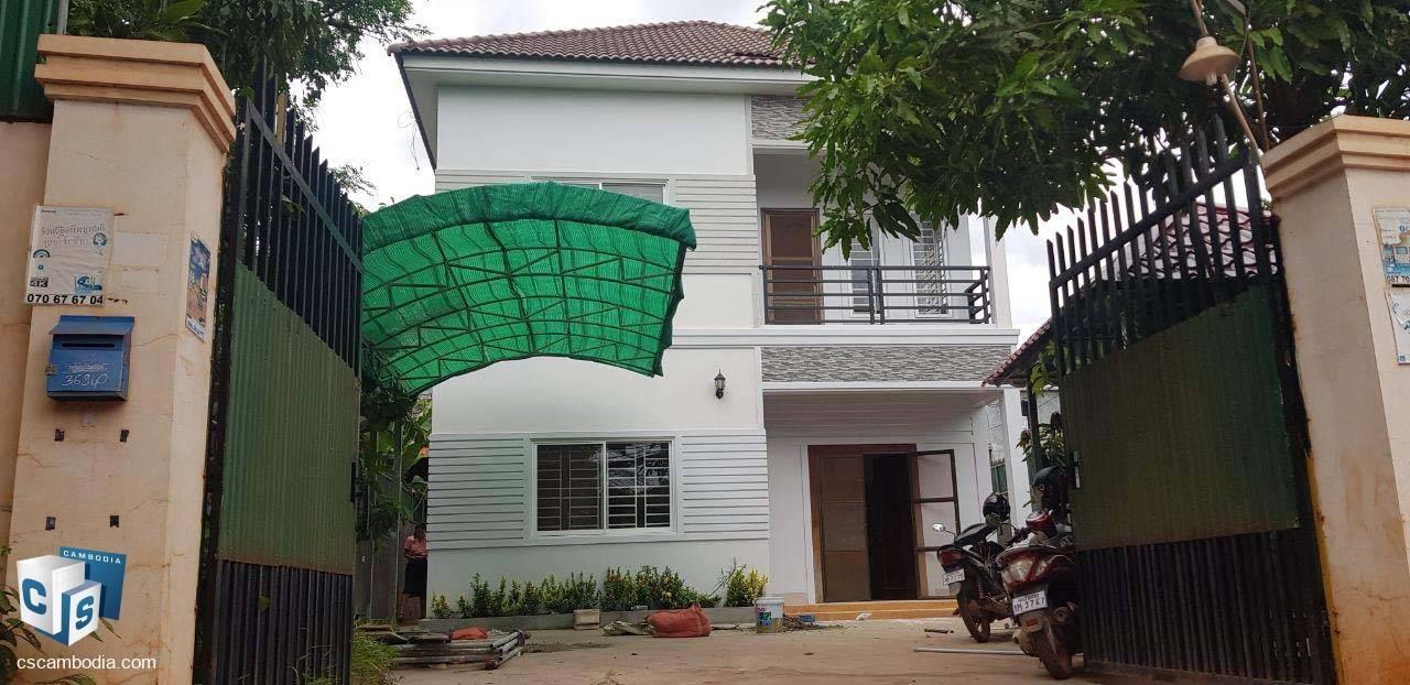 3 Bedroom House – For Rent – Trapeang Traeng Village – Sala Kamreuk Commune – Siem Reap
