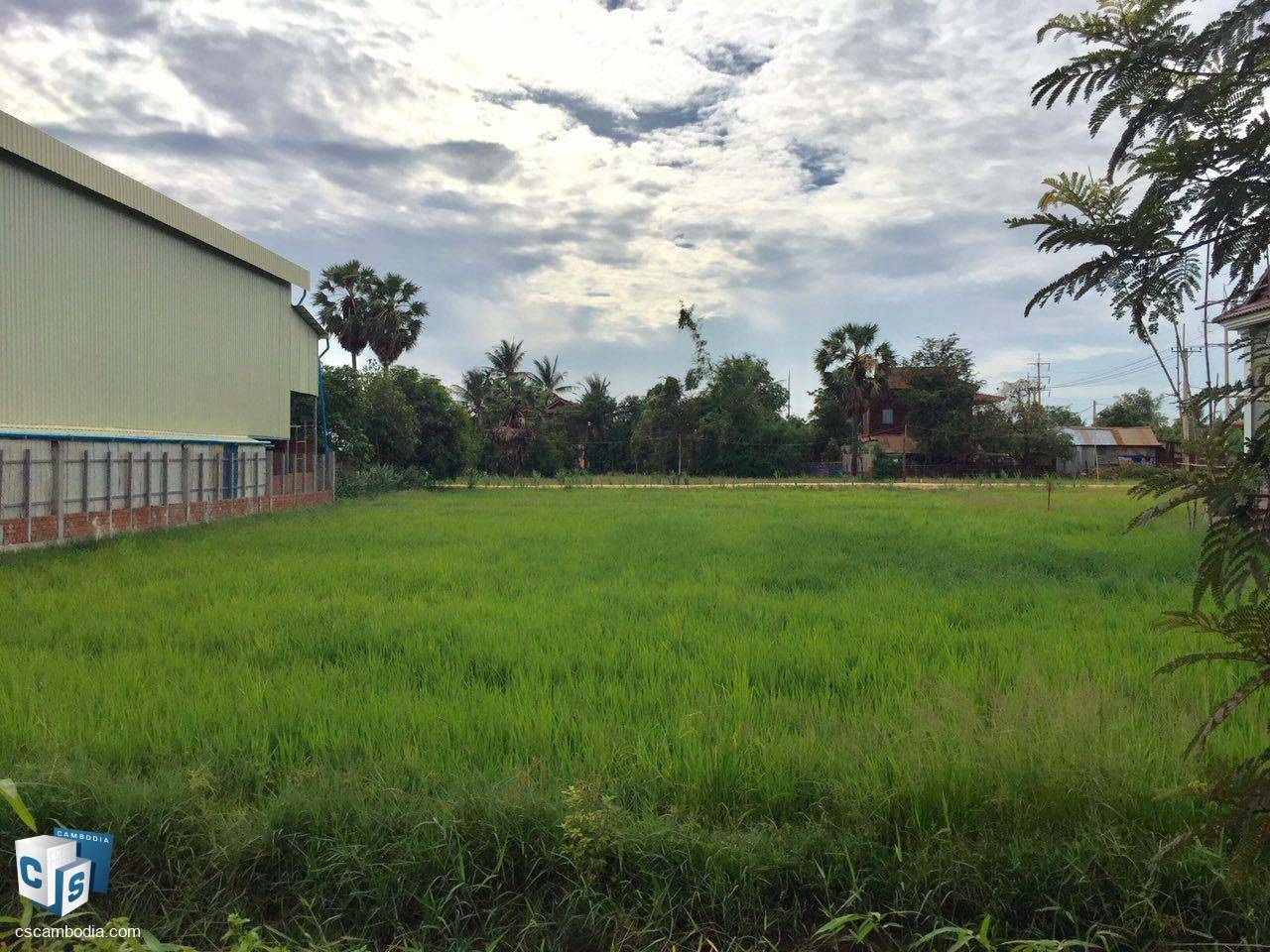 748 Sq M Land-For Sale-Takong Village, Sambor Commune, Siem Reap Province