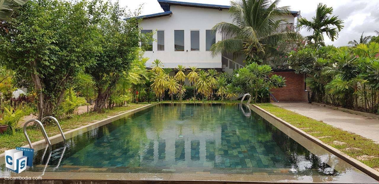 15 Bedroom Apartment  – For Rent – Kruos Village–Svay Dangkum- Siem Reap