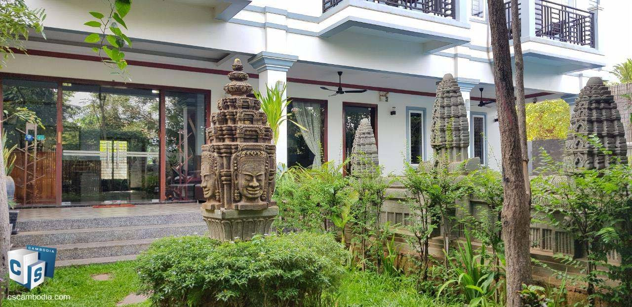 18 Room Hotel – For Rent – Thmey Village-Svay Dangkum Commune- Siem Reap