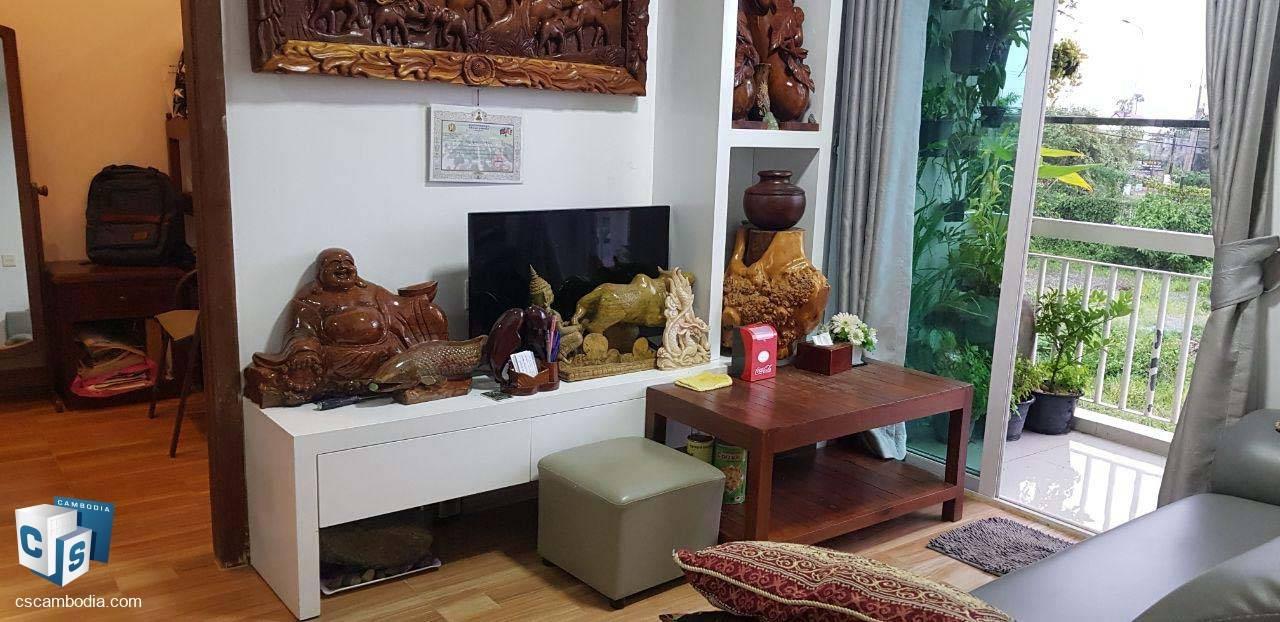 2 Bedroom Condo – For Sale – Taphul Village – Svay Dangkum Commune – Siem Reap