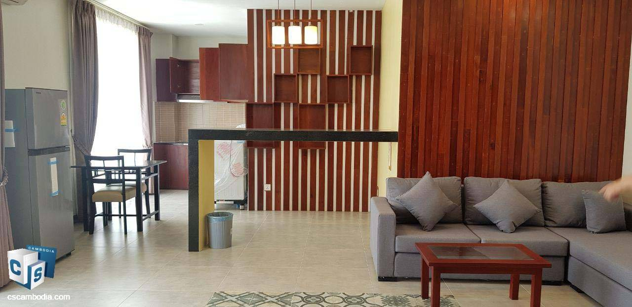 1 Bedroom Apartment – For Rent – Vihear Chen Village – Svay Dangkum Commune – Siem Reap