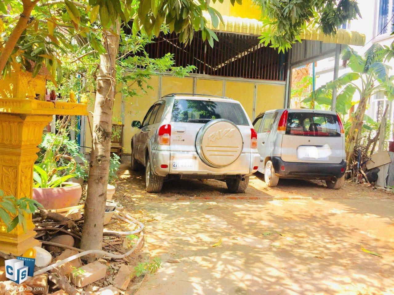 144 Sq Meters of Land – For Rent – Steung Thmei Village – Svay Dangkum – Siem Reap