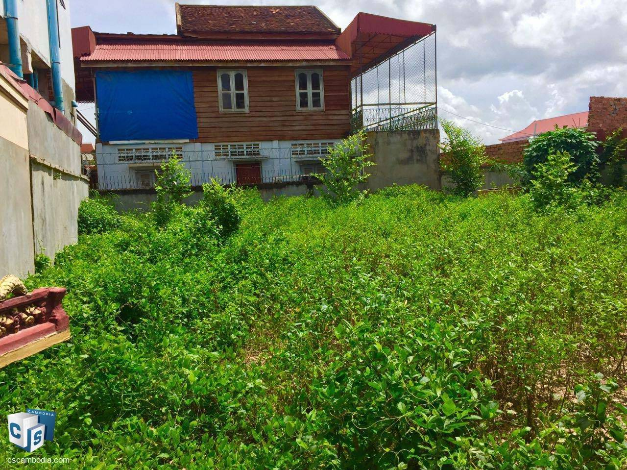 209 Sq Meters of Land – For Rent – Steung Thmei Village –Svay Dangkum- Siem Reap