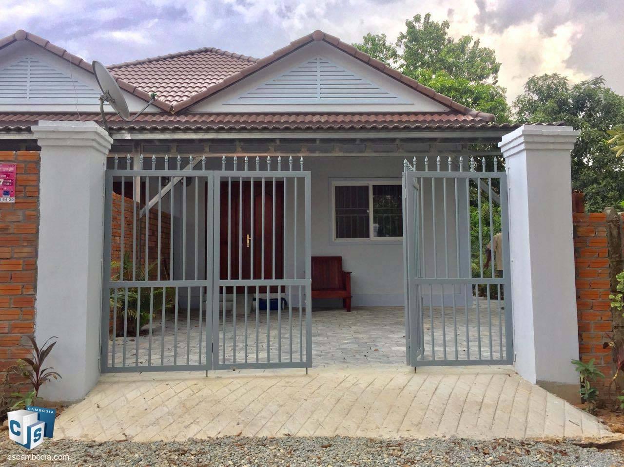 2 Bedroom House – For Rent – Svay Dangkum – Siem Reap