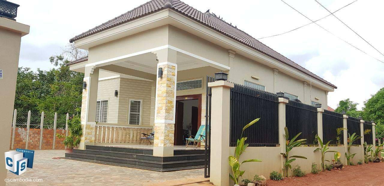 2 Bedroom House – For Rent – Sla Kram Commune – Siem Reap