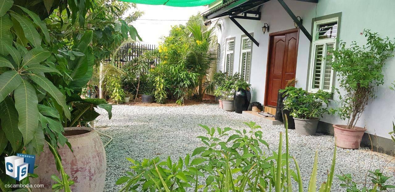 1 Bedroom House – For Rent – Boeng Daun Pa Village – Sla Kram Commune – Siem Reap
