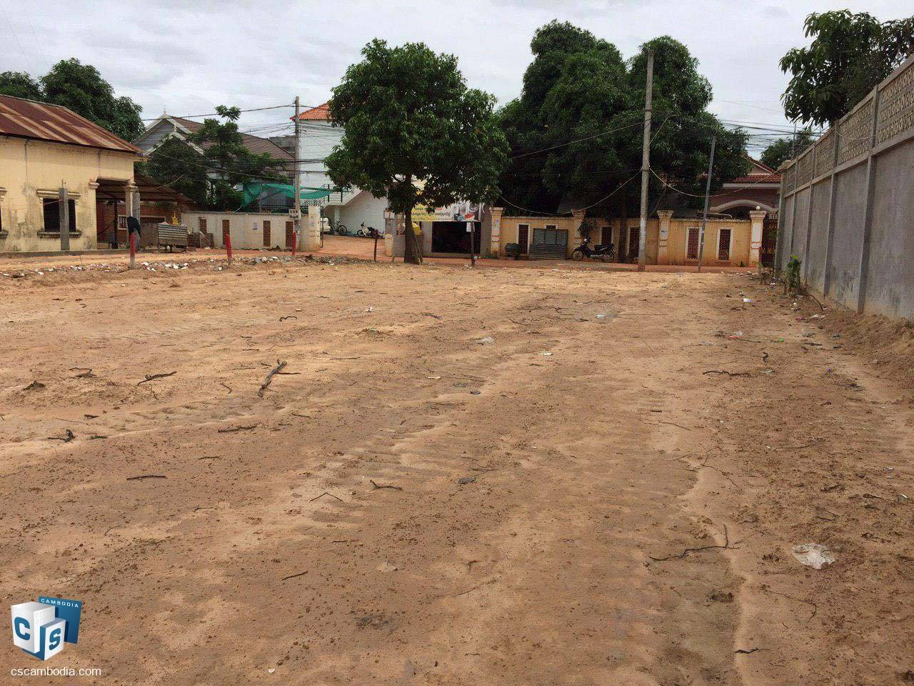 408 Sq meter Land – For Sale – Sala Kanseng Village – Svay Dangkum Commune – Siem Reap