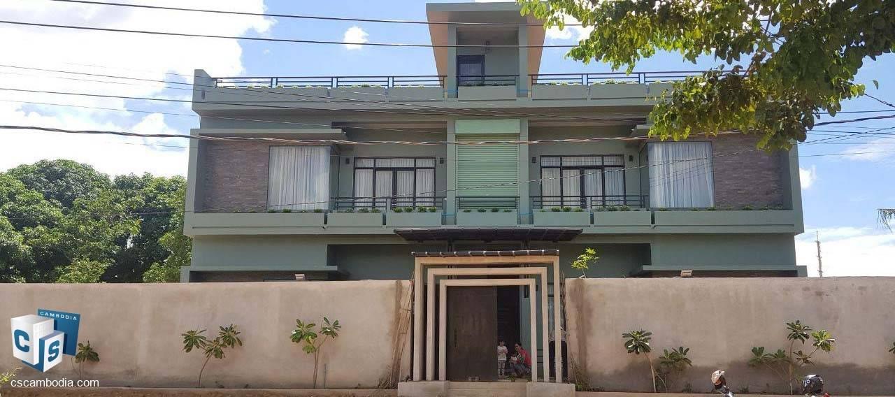 1 Bedroom Apartment – For Rent – Trapeang Traeng Village – Sala Kamreuk Commune – Siem Reap