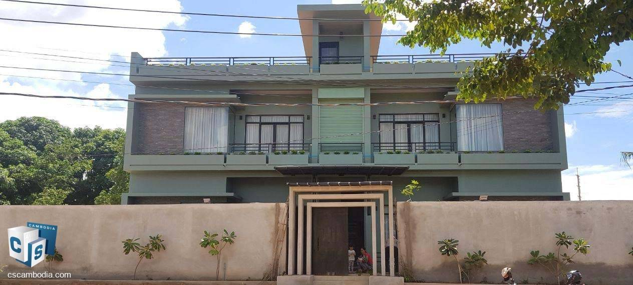 5 Bedroom Apartment – For Rent – Trapeang Traeng Village – Sala Kamreuk Commune – Siem Reap