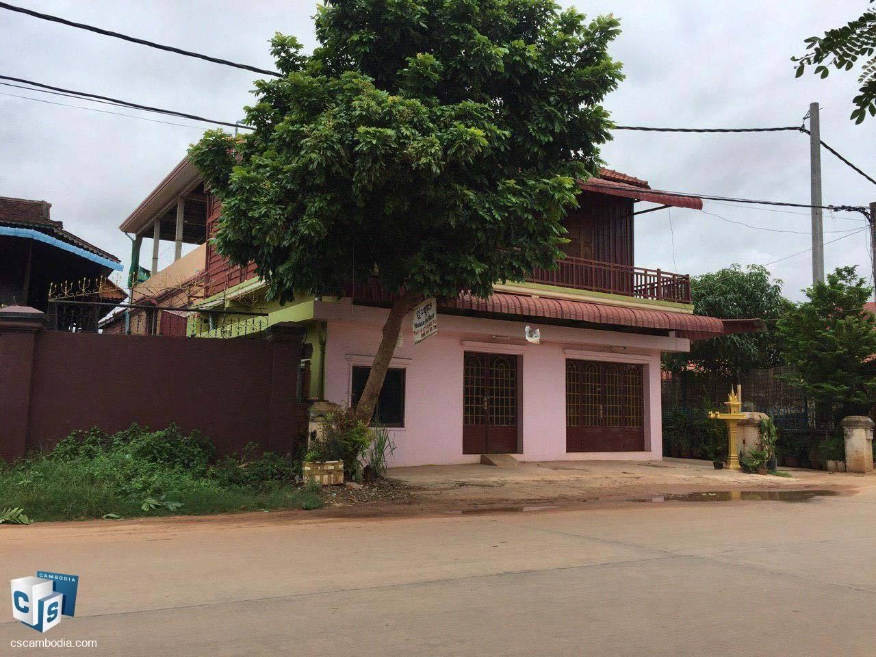 2 Bedroom House – For Rent – Wat Svay Village – Sala Kamreuk Commune – Siem Reap