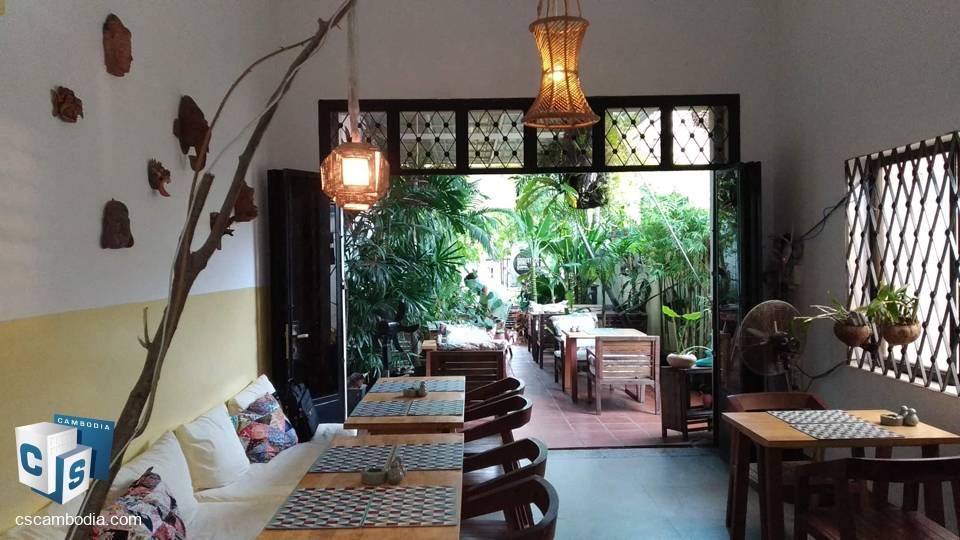Restaurant Business for sale – Sok San Rd – Siem Reap