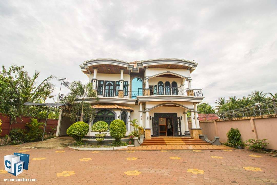 8 Bedroom Villa – For Rent– Sala Kamreuk Village – Sala Kamreuk Commune – Siem Reap