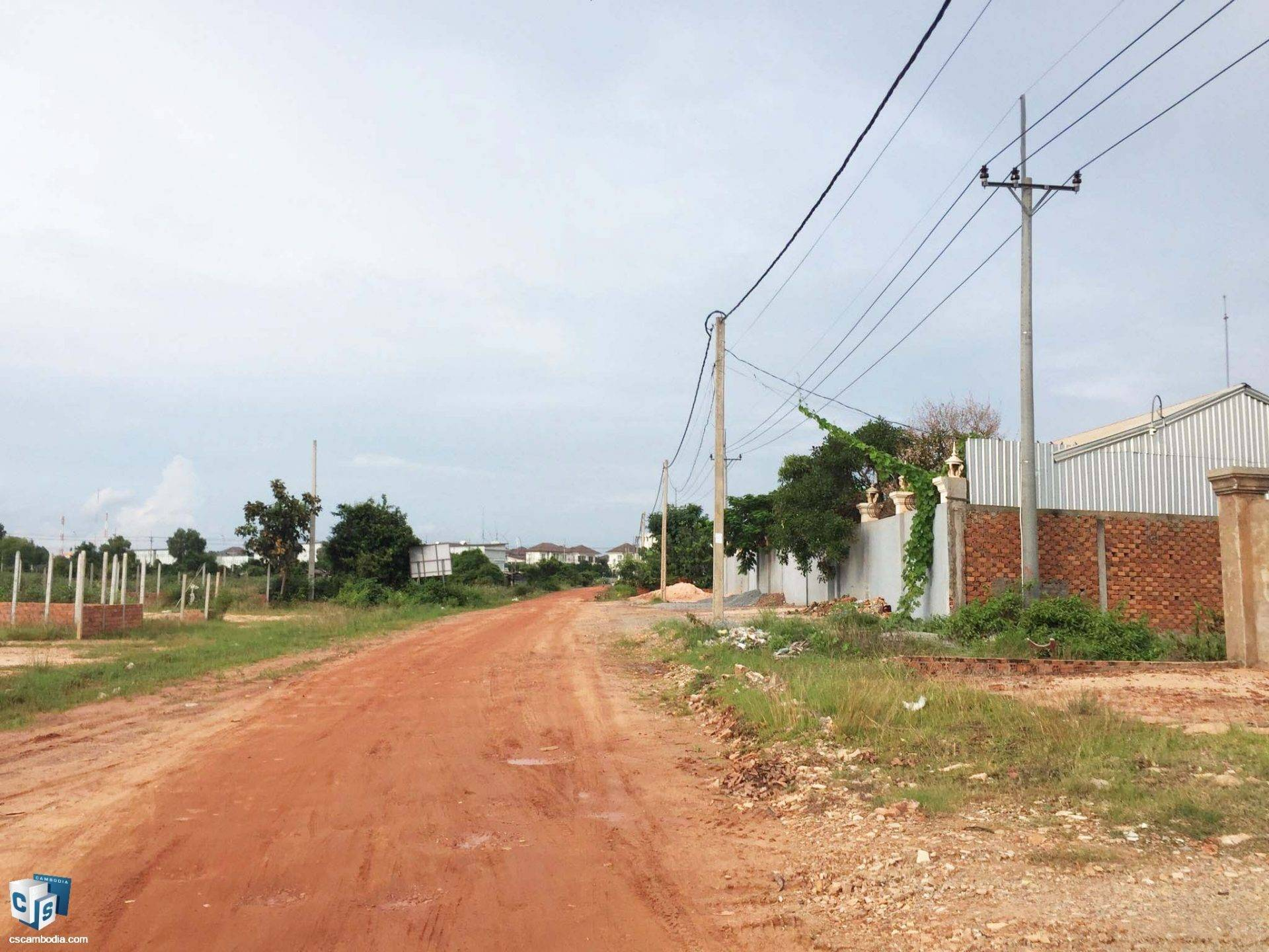 250 Sq Meters Of Land – For Sale – Tapun  Village –Svay Dangkum  – Siem Reap