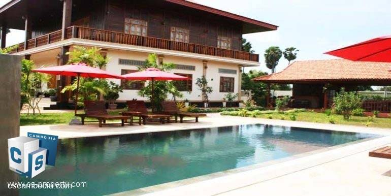 6 Bedroom House – For Sale – Steung Thmei  Village – Svay Dangkum – Siem Reap