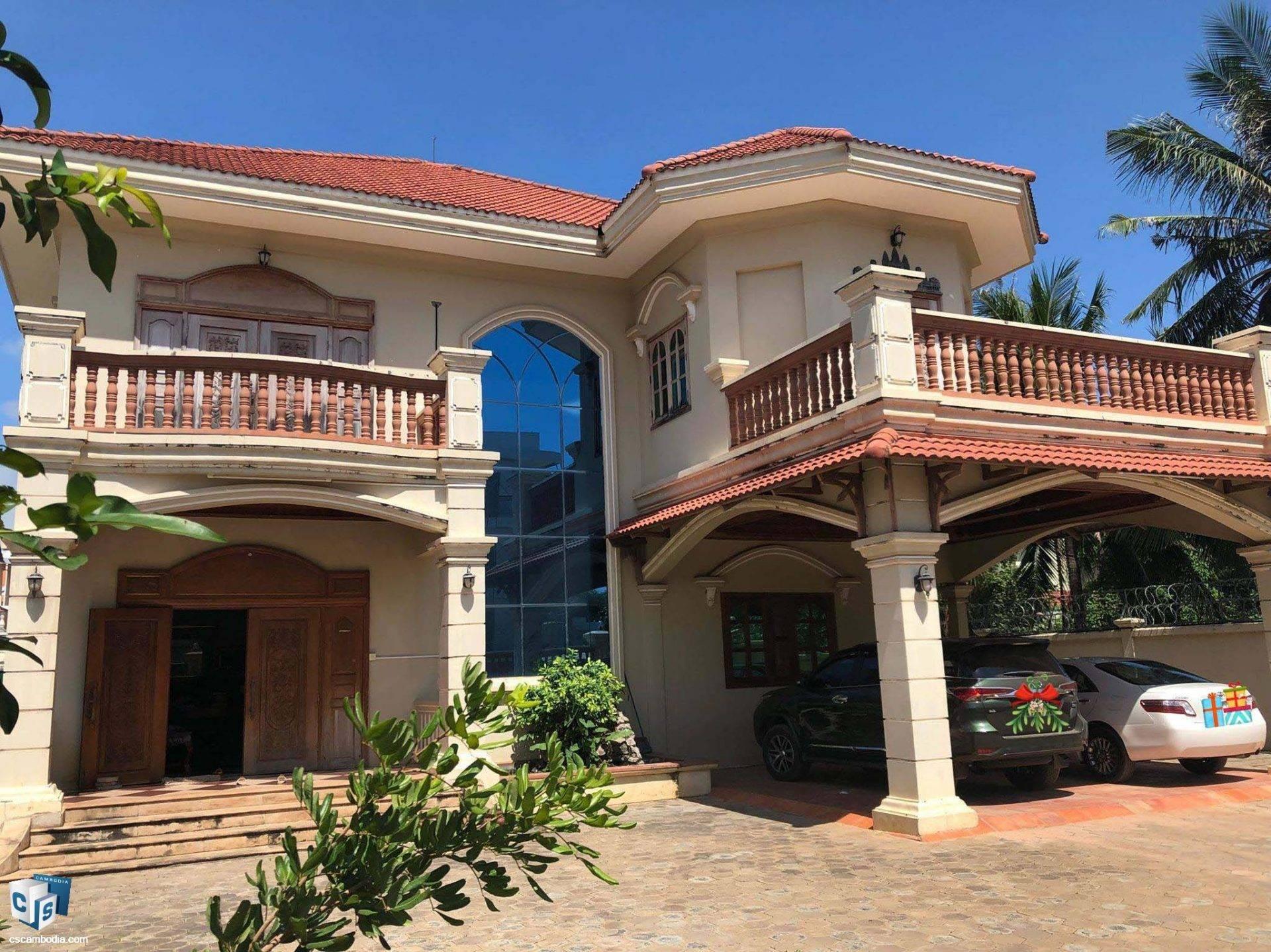 5 Bedroom House – For Sale – Taphul – Svay Dangkum – Siem Reap