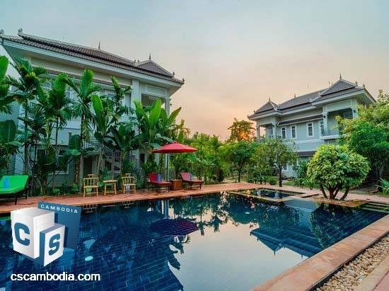 Luxurious 12 Room Villa – For Rent – Svay Dangkum  – Siem Reap